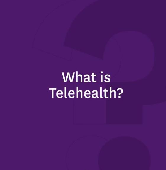 ¿Qué es Telehealth?