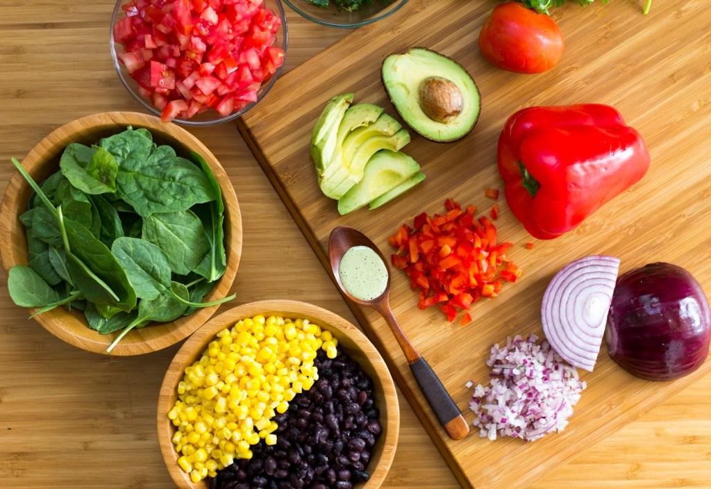 食谱:黑豆夏日沙拉
