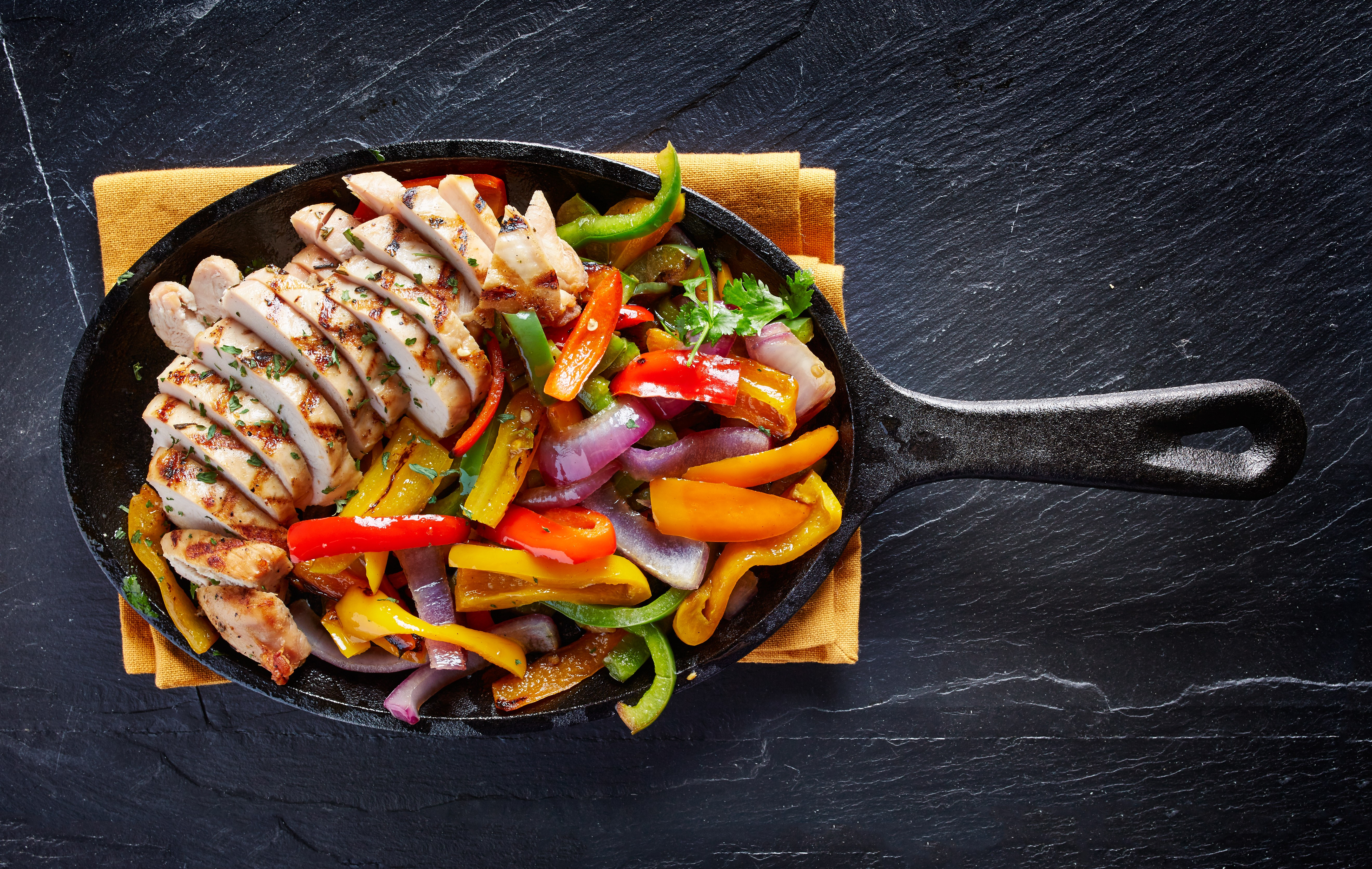 Recipe: Healthy Chicken Fajitas