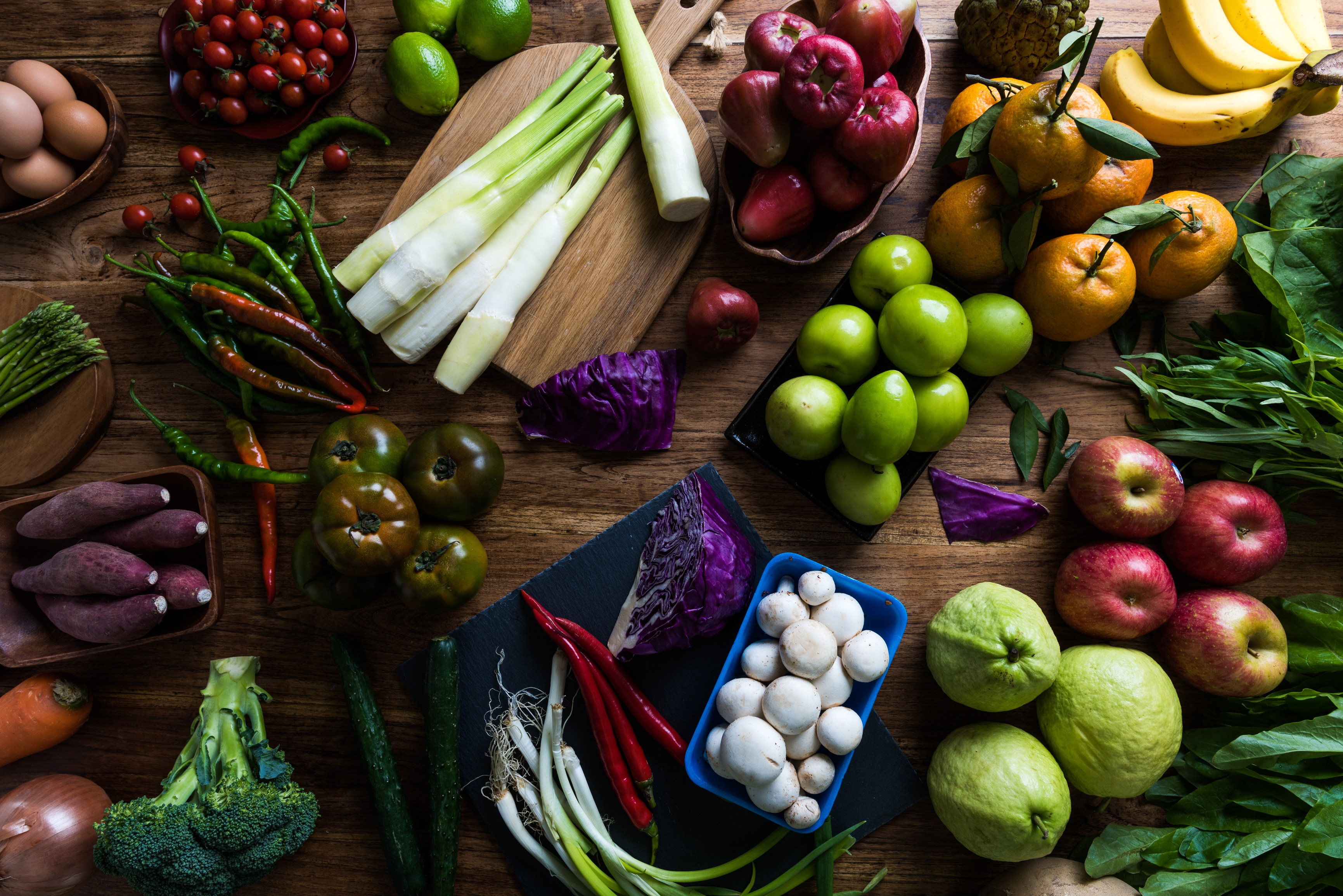 Reglas de limpieza de primavera para una alimentación saludable