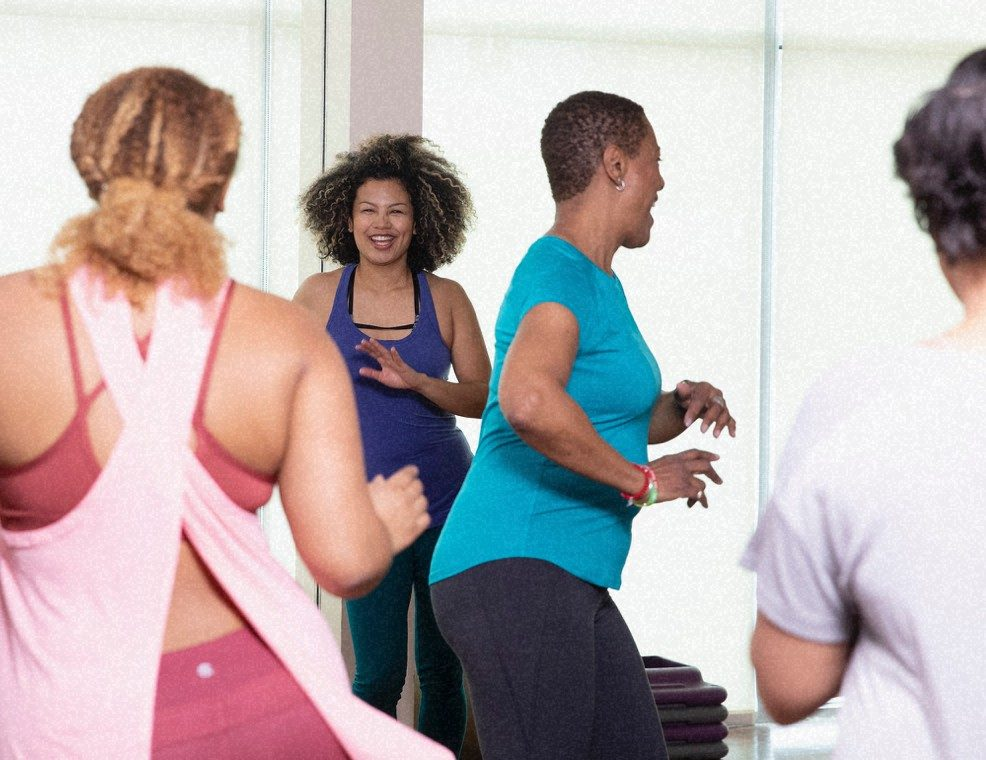 EmblemHealth Live Well exercise class Zumba.