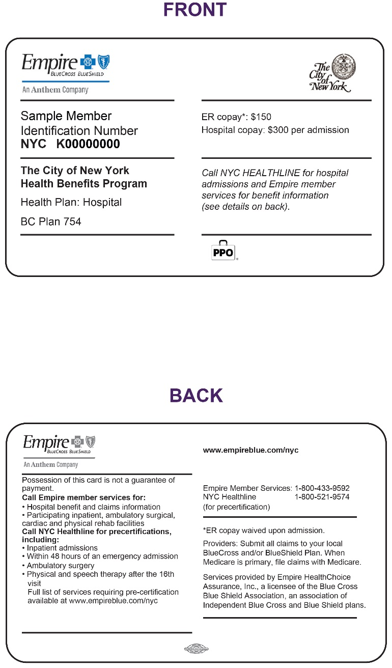 New Id Numbers And Cards For Ghi Ppo City Of Ny Members Coming In